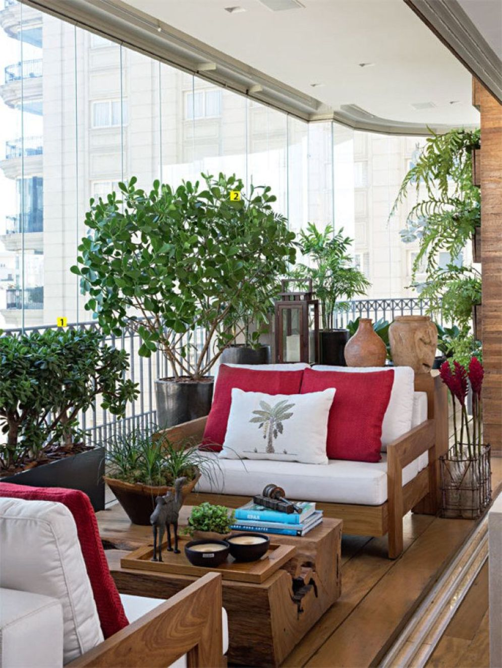 Brilliant apartment balcony ideas converted into cozy living space Image 16