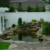 Brilliant landscape decoration of natural small fish ponds that you can make yourself Image 5