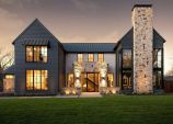 Countryside house with modern Farmhouse exterior design bringing up the traditional style in new classy look Image 15