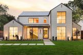 Countryside house with modern Farmhouse exterior design bringing up the traditional style in new classy look Image 2