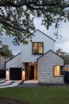 Countryside house with modern Farmhouse exterior design bringing up the traditional style in new classy look Image 21