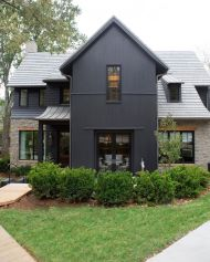 Countryside house with modern Farmhouse exterior design bringing up the traditional style in new classy look Image 6