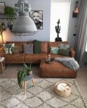 Expressive interior display in multilayering textures and colors showing artsy interior schemes with retro and vintage accents Image 16