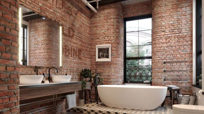 Exposed Brick Bathroom Ideas You Must See Shairoomcom