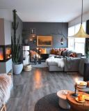 Multitoned interior design highlighting a series of eclectic styles and designs in a harmonious space display concept Image 30