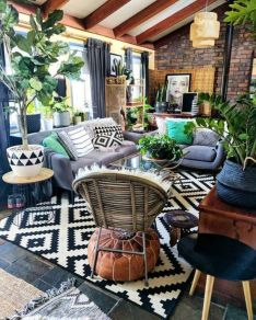 Multitoned interior design highlighting a series of eclectic styles and designs in a harmonious space display concept Image 33