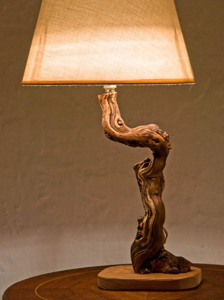 Stunning natural material for Driftwood lamp decoration creating an incredible ambiance Image 15