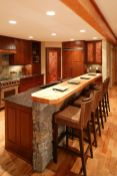 Warm and friendly cabin kitchen displaying rustic interior styles providing ideal space for a perfect retreat Image 33