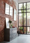 Wonderful interior statement brick wall improving interior display with modern rustic combination Image 31