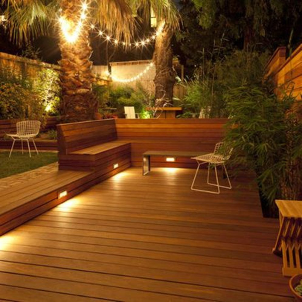 Amazing festoon lighting to enhance beautiful garden lighting ideas with fairy outdoor display Image 10