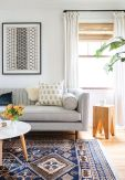 Beautiful Bohemian living style displaying artsy rug designs with exotic pattern Image 33