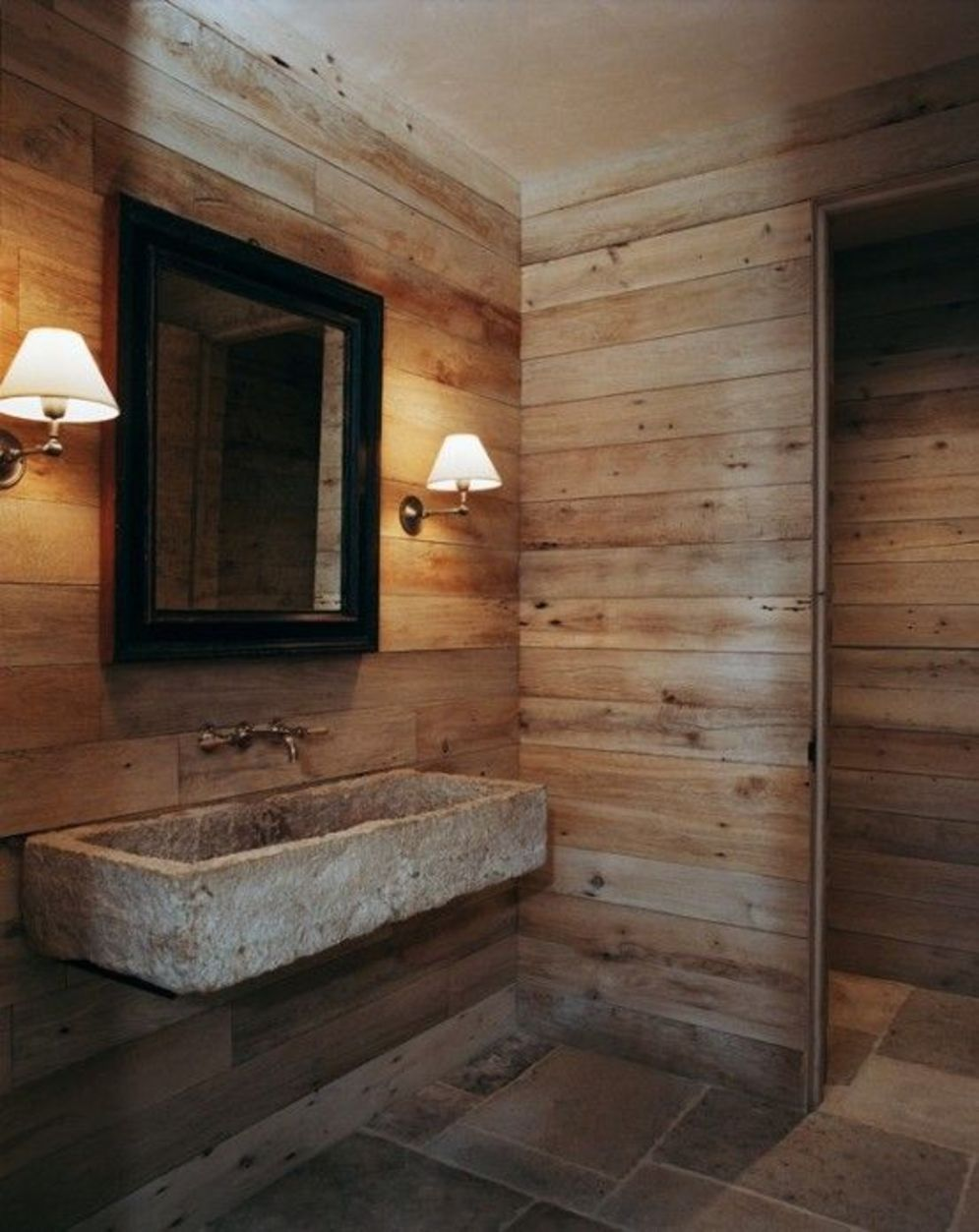 Timeless bathroom designs with wood accents enhancing more natural vibes Image 26