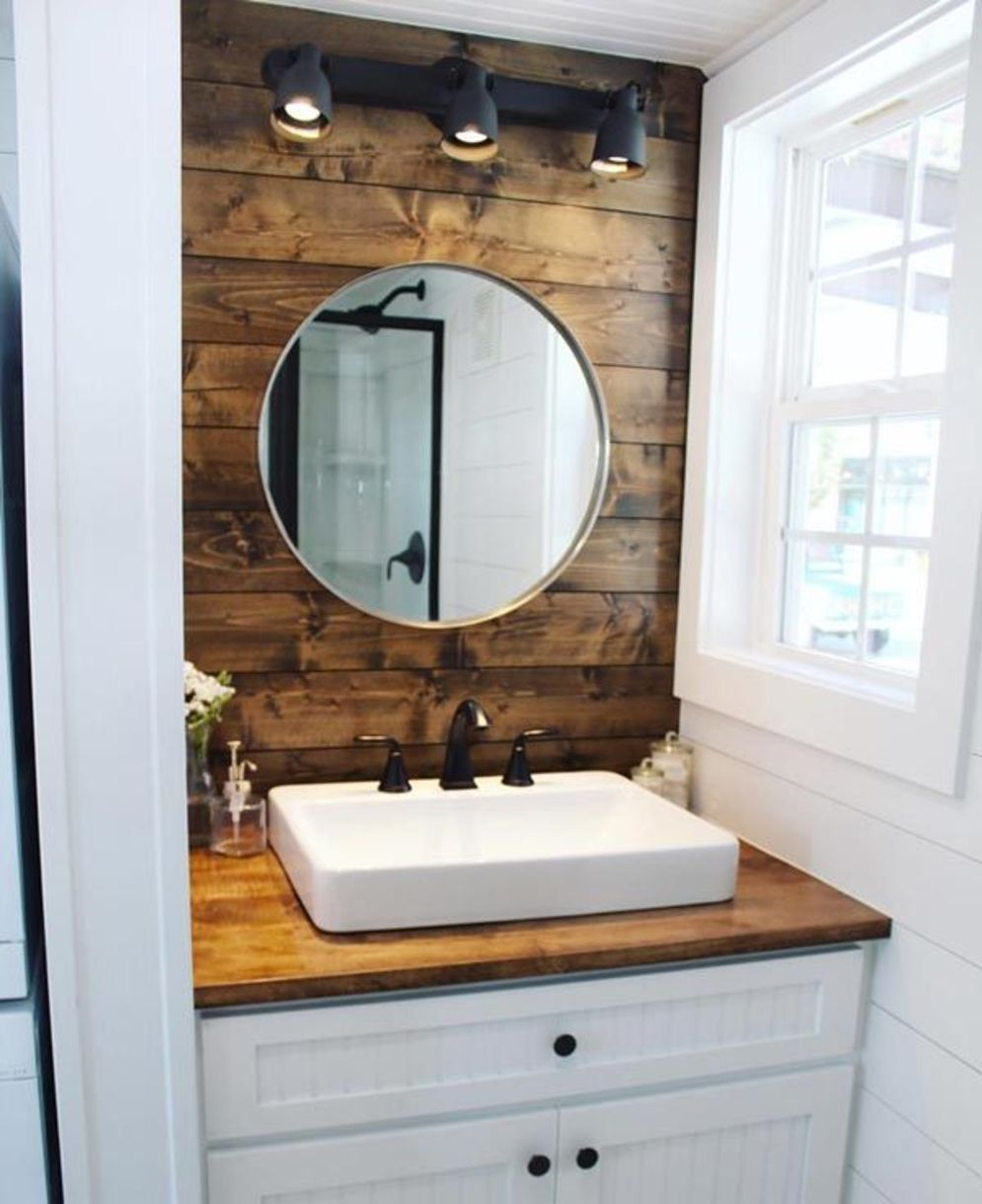 Timeless bathroom designs with wood accents enhancing more natural vibes Image 28