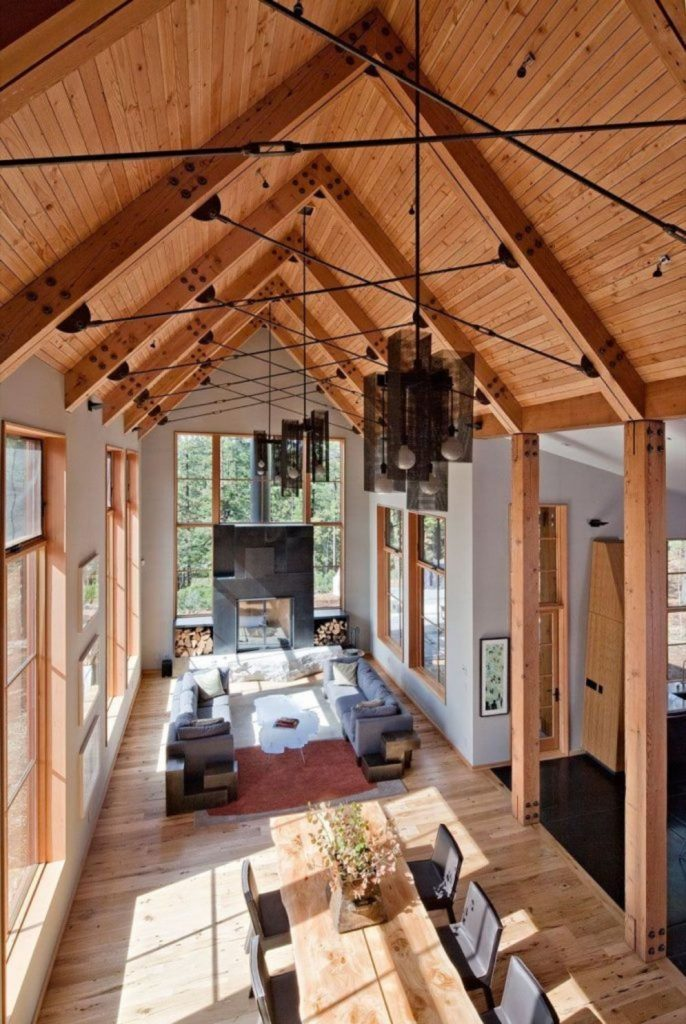 Best vaulted ceiling designs the will give your home airier vibes and incredible beauty Image 2