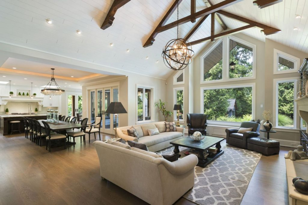 Best vaulted ceiling designs the will give your home airier vibes and incredible beauty Image 4