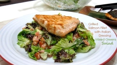 grilled-salmon-mixedgreens-salad