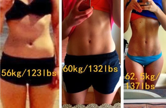 difference weight with muscle