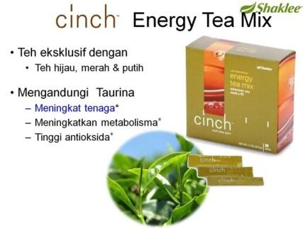 cinch energy tea