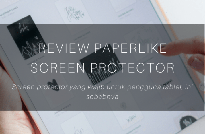 screen protector, paperlike, review