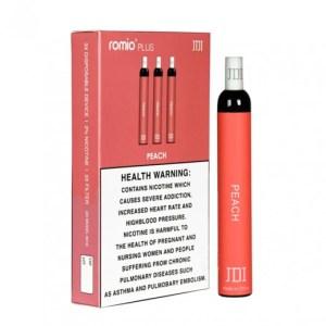 روميو - سيجارة الإستخدام لمرة واحدة 3 حبة - نكهة الخوخ-2