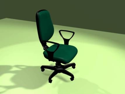 Office chair - UCLM - Blender