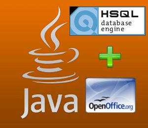 JDBC y HSQLDB: crear bases de datos con Java y el motor de base de datos de OpenOffice