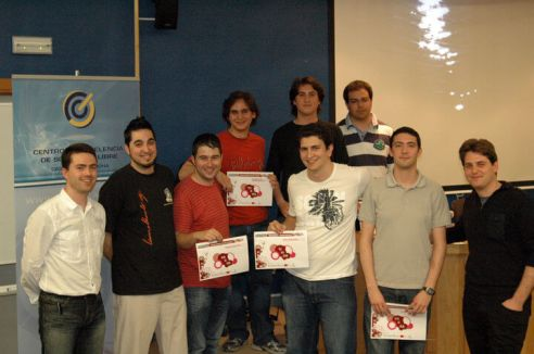 CUSL regional foto de los ganadores
