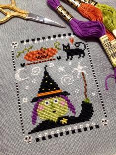 The Floss Box - Halloween Ornament #5