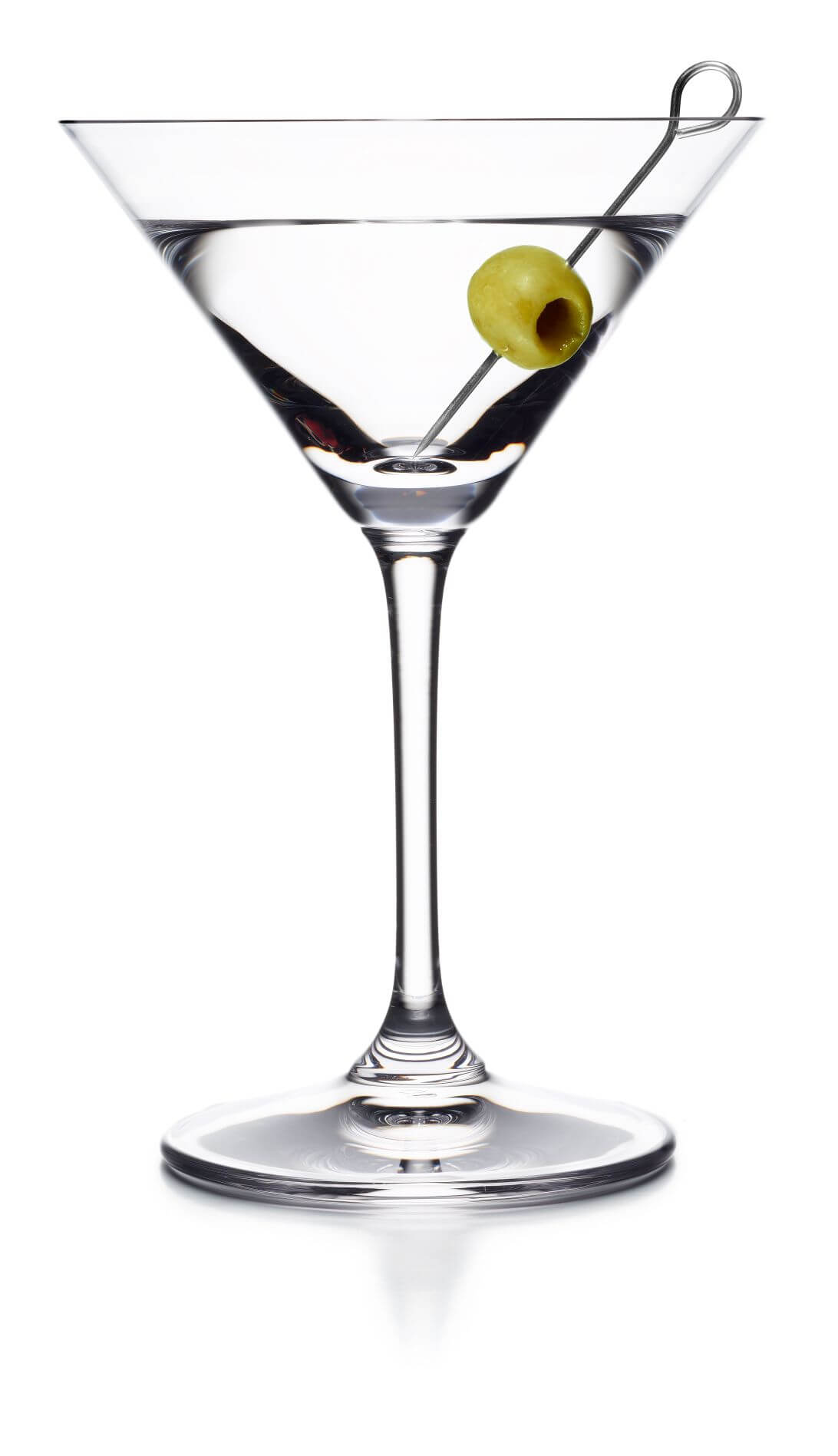 Thilbault told us that you should always have your martini stirred, not shaken, because it dilutes the mixture too much.