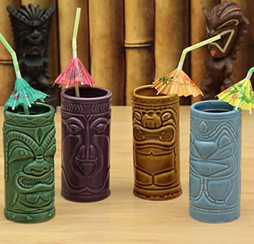 Accoutrements Tiki Tumblers