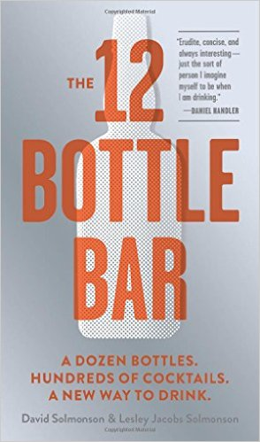 12 Bottle Bar Cocktail Book