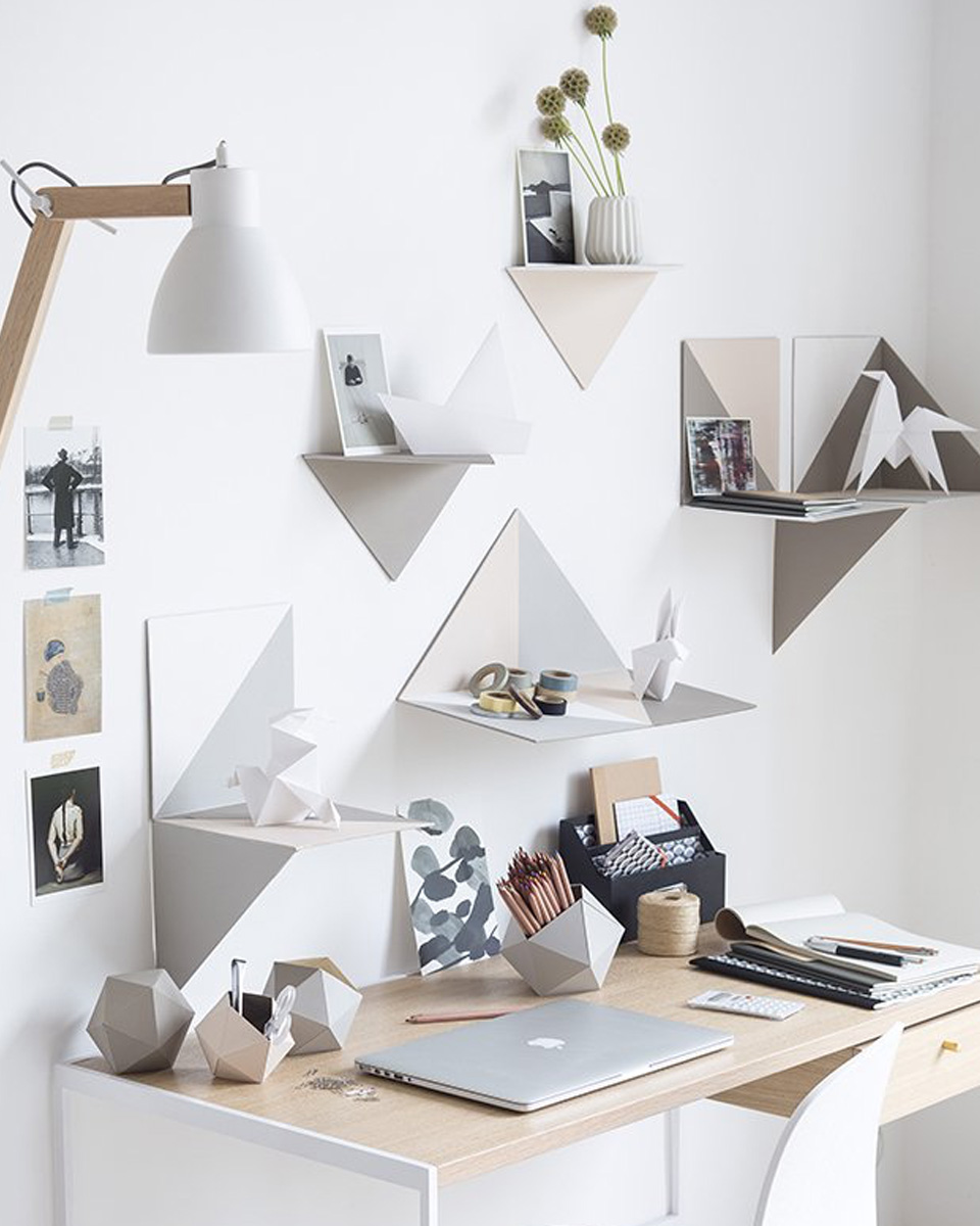idee diy bureau pot carton