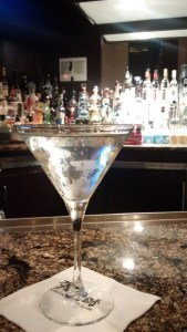 Martini at Del Frisco's Philadelphia