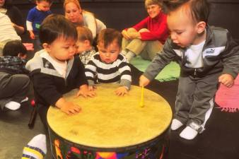 drumboys at music class