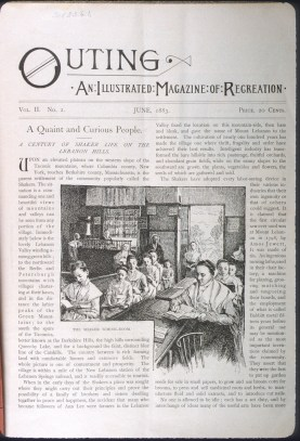 Outing: An Illustrated Magazine of Recreation, 2 (June, 1883), p. 1