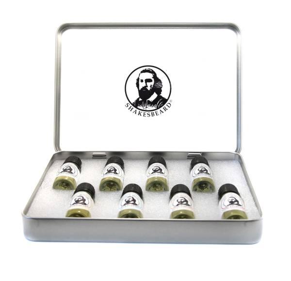 Beard Oil Collection Tin
