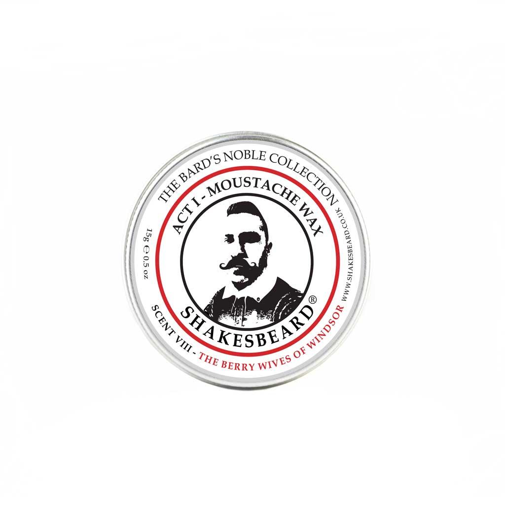 Woody Mixed Berry Moustache Wax 15g The Berry Wives Of Windsor