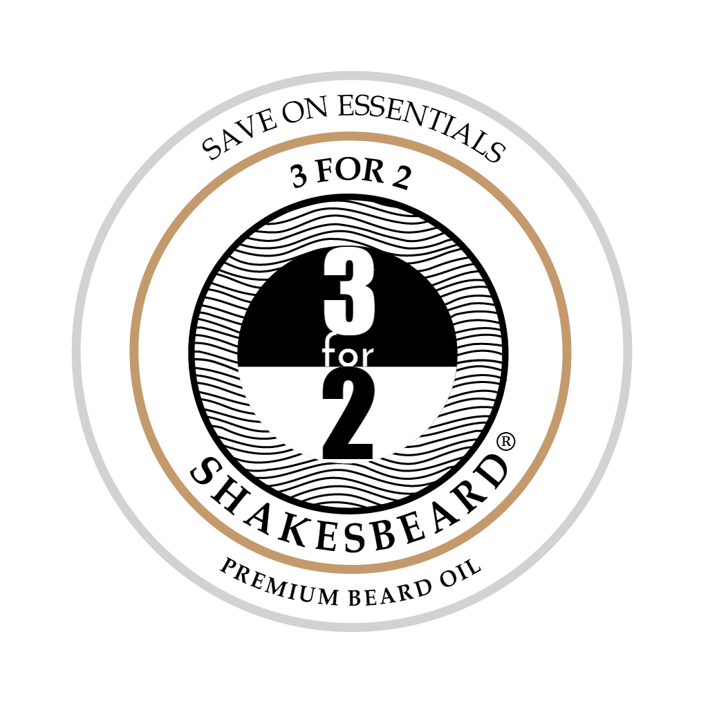 SHAKESBEARD® Beard Care 3 for 2 Ultra Premium Beard Oil