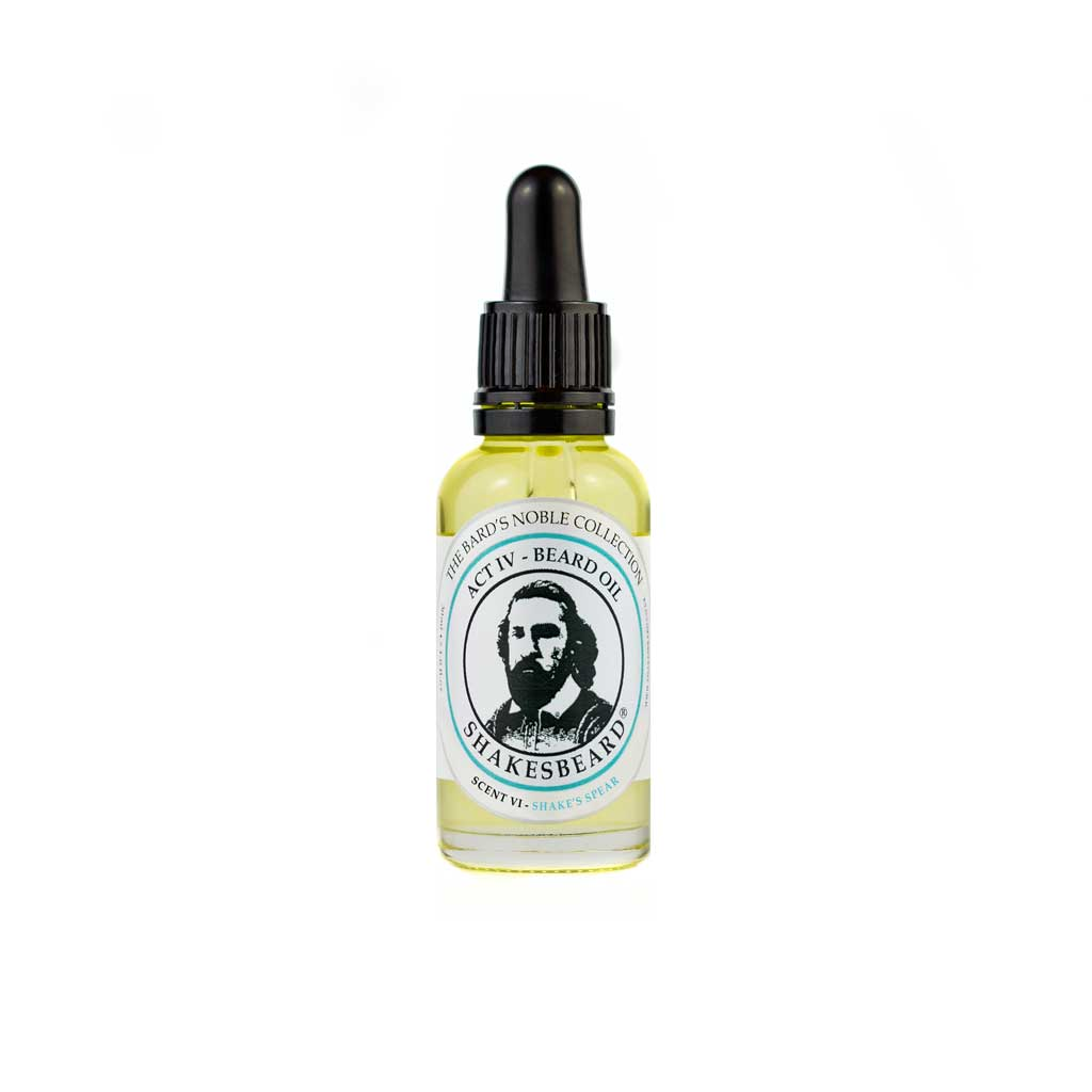 Fresh Mint Beard Oil 30ml Shake's Spear