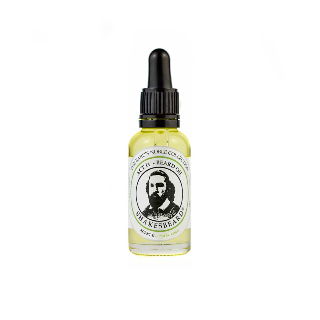 Vibrant Bergamot Citrus Lemon Zesty Lime Beard Oil 30ml Cymbelime
