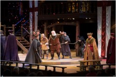 A scene from the Utah Shakespeare Festival's 2015 production of King Henry IV Part Two. (Photo by Karl Hugh. Copyright Utah Shakespeare Festival 2015.)