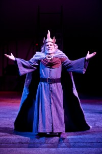 Barry Kraft as Lear in King Lear, produced by Southern Oregon University, Oregon Center for the Arts. Credit: Prechtel photo