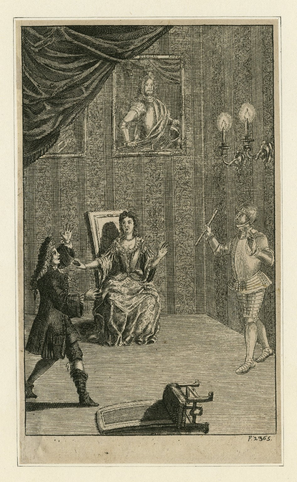 Illustration in the 1709 Nicholas Rowe edition of Shakespeare's Works