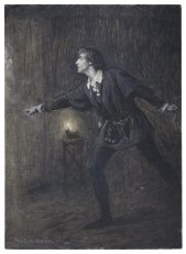 Henry Irving as Hamlet