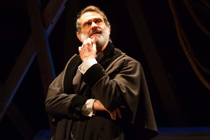 "Matthew Boston as Shylock in ""District Merchants,"" a variation on ""The Merchant of Venice"""