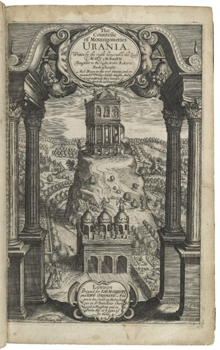 Mary Wroth. The Countesse of Mountgomeries Urania. London, 1621