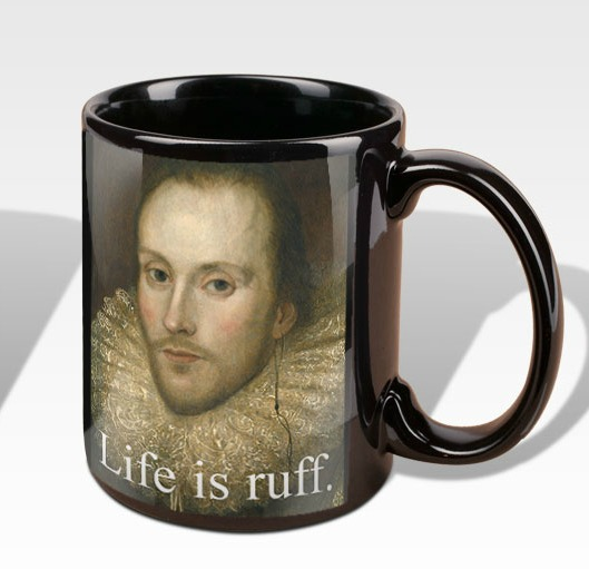 This mug is one of our five Christmas gift ideas for Shakespeare fans.