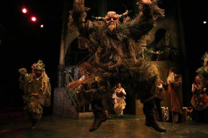 Satyr dance in The Winter's Tale