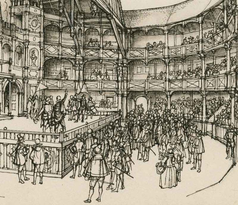 Imagining the audience at the Globe