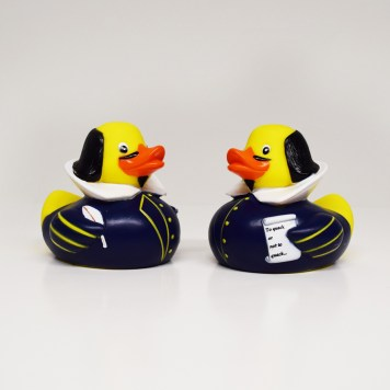 Shakespeare Rubber Ducks